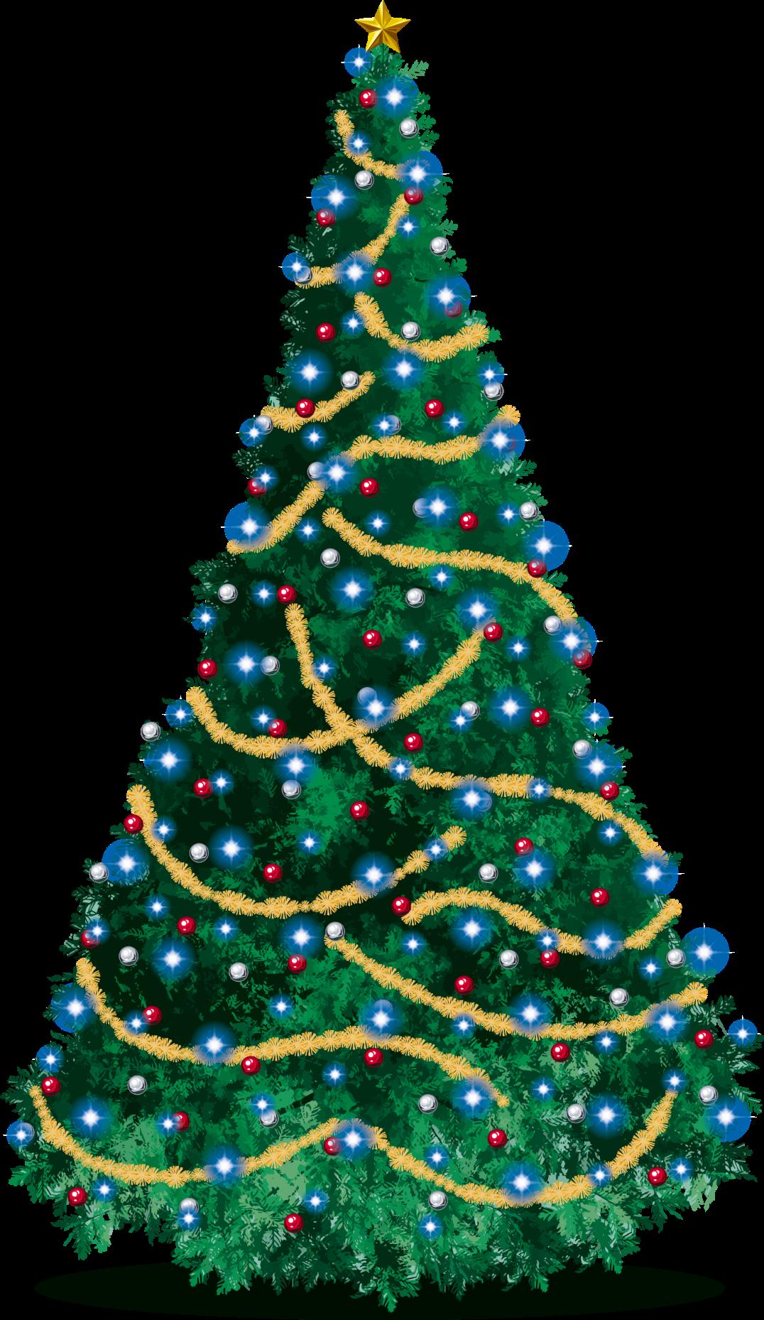 とってもきれいなクリスマスツリー