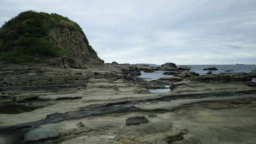 剣崎灯台の磯